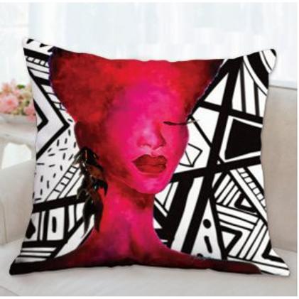 Fushia Self Love Pillow