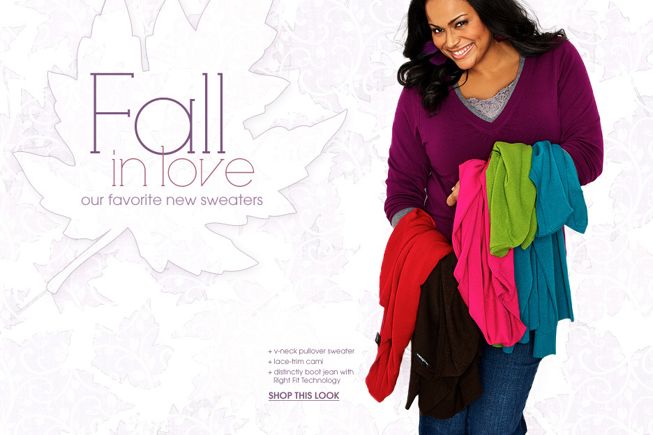 Lane Bryant Web Marketing