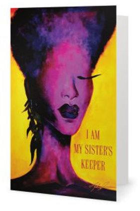 Violet Sister's Keeper Card