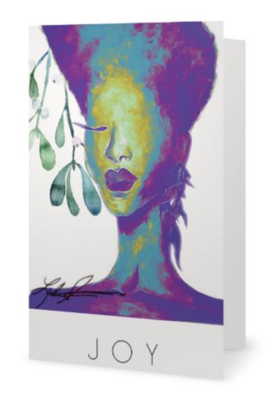 """Joy Christmas Card 5""""x7"""" cards"""