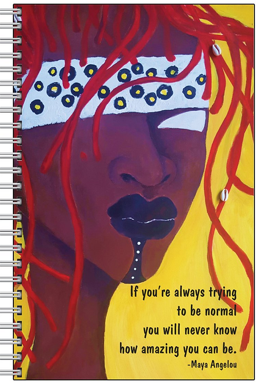 Angelou Amazing Notebook