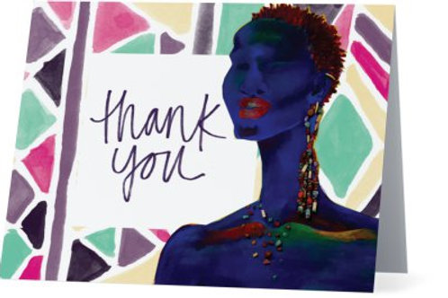 Royal Spectrum Thank You Cards