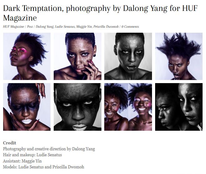 Dark Temptation - HUF Magazine