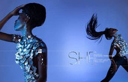SHE Editorial Tinsel Tokyo Magazine