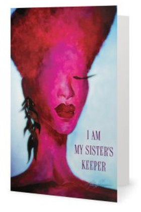 Fushia Sister's Keeper Card