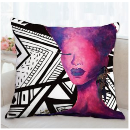 Purple Self Love Pillow