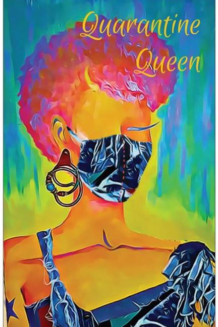 Tomi Quarantine Queen Greeting Card