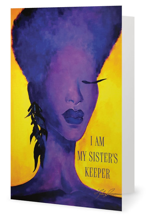 Sister's Keeper Card