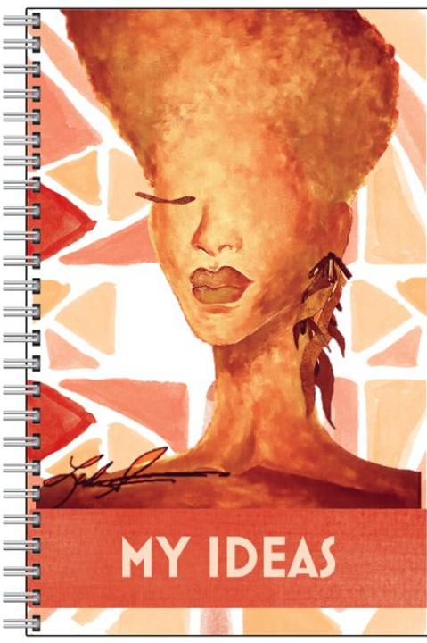 Tangerine Ideas Notebook