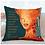 Thumbnail: Tangerine Queen Kente Print Pillow