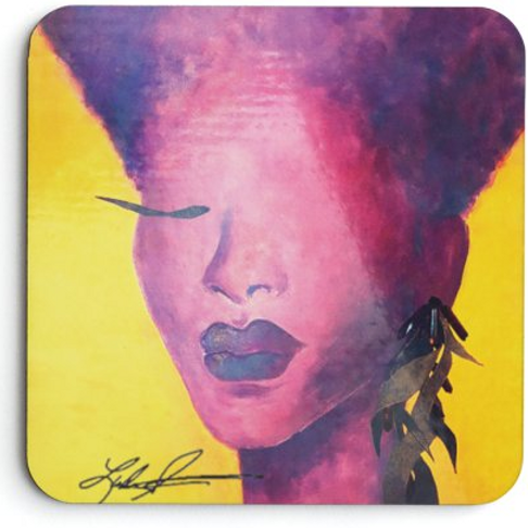 Cropped Violet Yellow Electric Lady