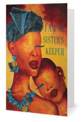 Agape Sister's Keeper Greeting Card