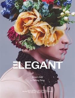 Elegant Magazine Cover