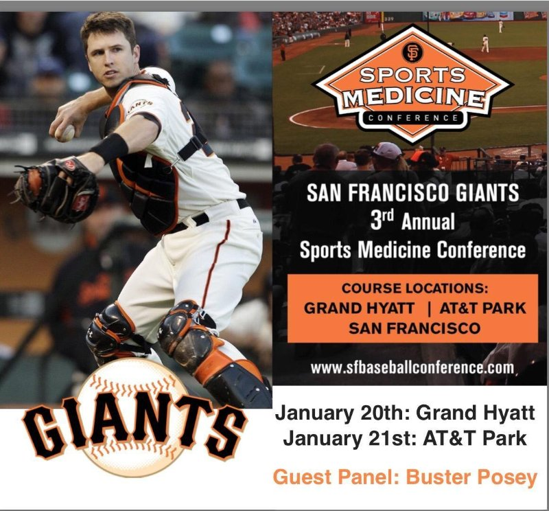 SF Giants Brochure w Buster
