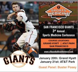 SF Giants Brochure w Buster