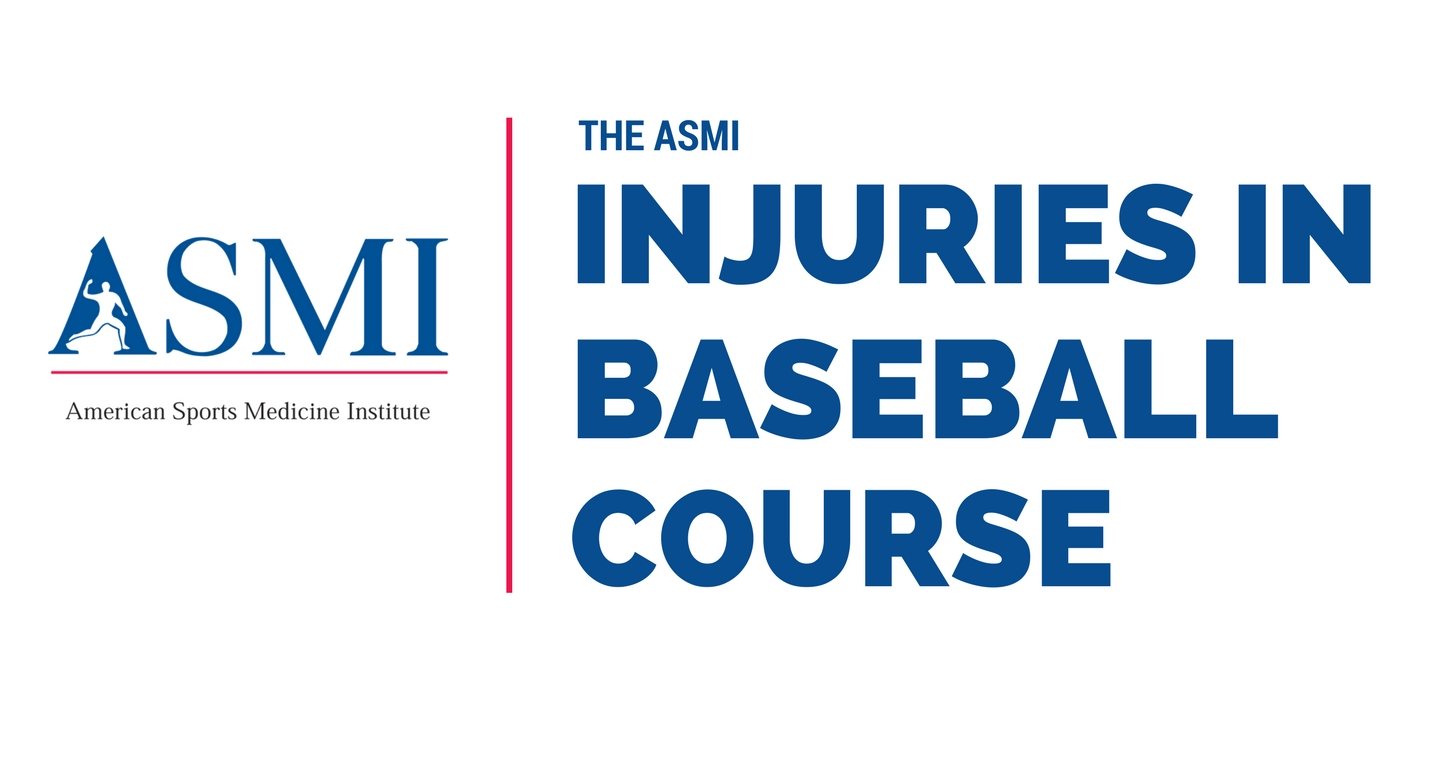 asmi injuries in baseball online course