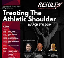 Treating The Athletic Shoulder - Flyer (