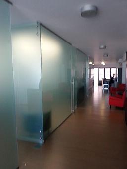 parete divisoria in vetro vitraldesign