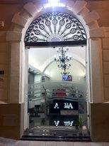 VitralDesign Porta in vetro apertura a Battente