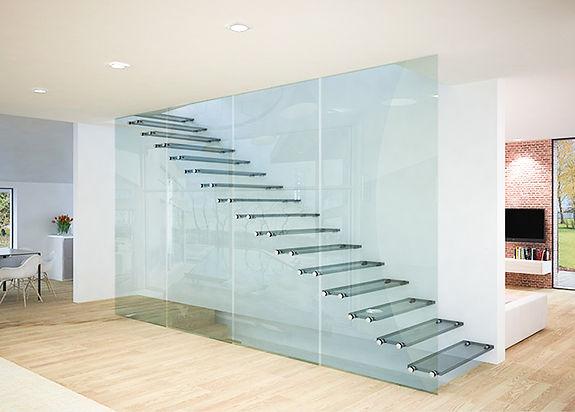 scala in vetro vitral design