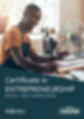 Certificate in Entrepreneurship