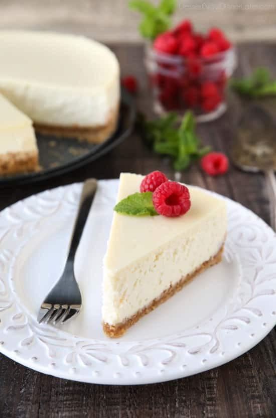 Le cheesecake américain : une recette facile et sans cuisson.