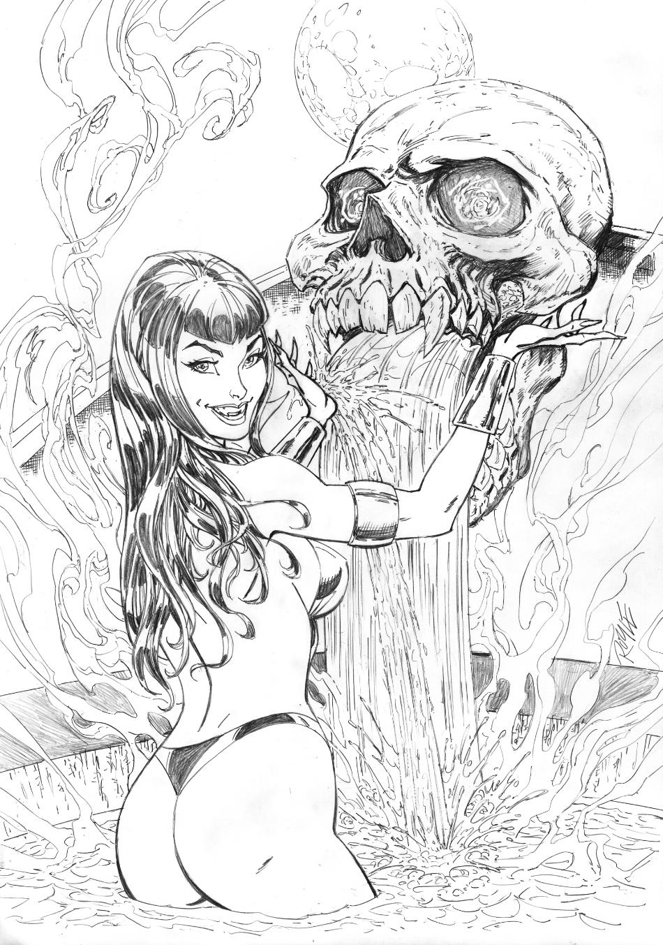 Vampirella # 9 Variant Cover