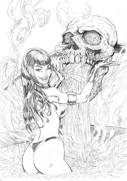 Vampirella #9 Variant Cover