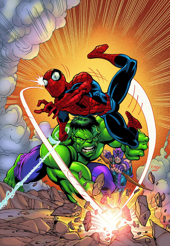 Spidey Hulk cover