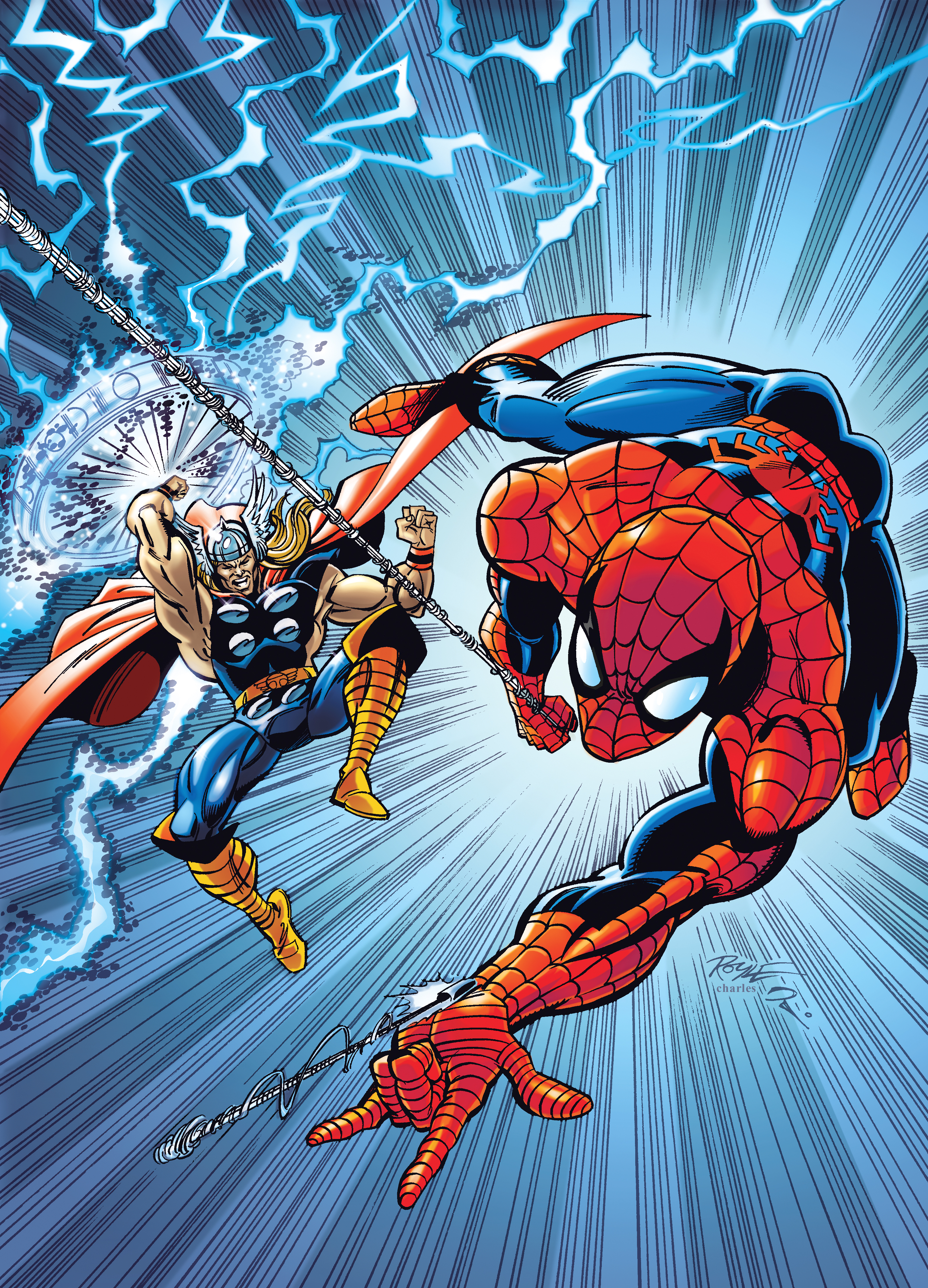 Cover Spidey Thor