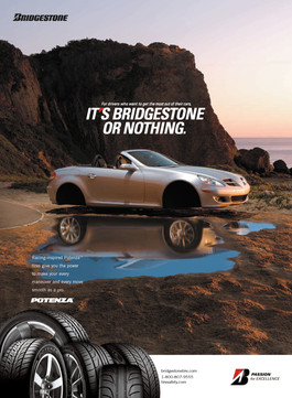 It's Bridgestone Or Nothing