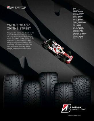 Bridgestone Potenza F1 Launch Ad