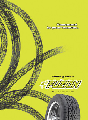 Fuzion Tire Launch Ad