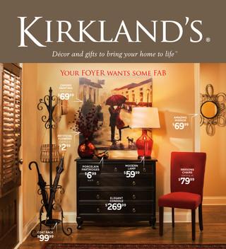 Kirkland's Newspaper Insert