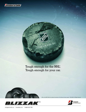 Bridgestone NHL Sponsor Ad