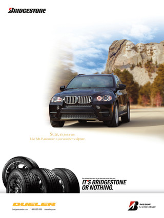 Bridgestone National Print Ad Campaign