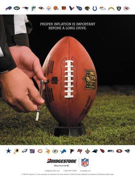 Bridgestone NFL Sponsor Ad