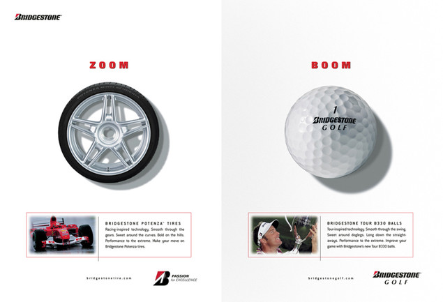 Bridgestone Golf Ad