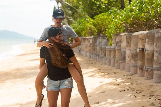 Koh Samui Thailand sisters