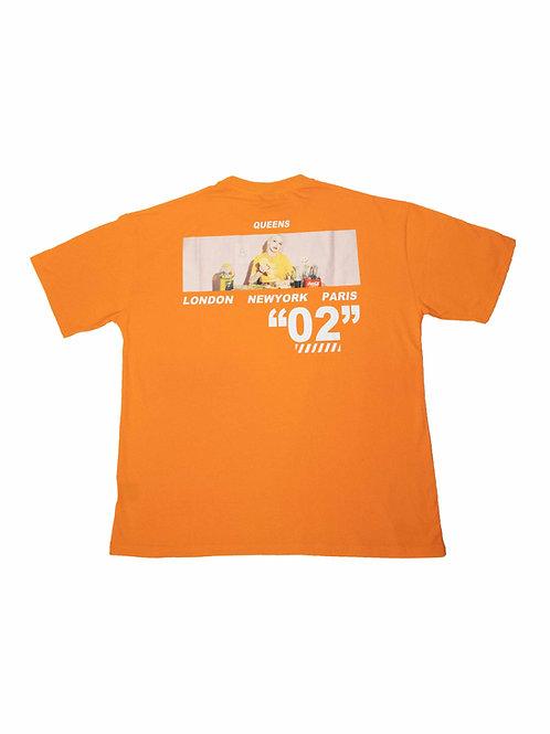 Queens Tee Orange