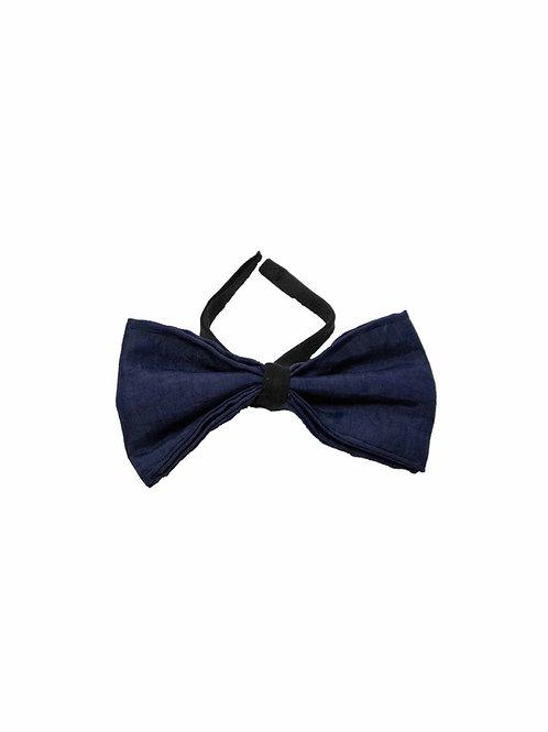Dark Blue Bow Tie