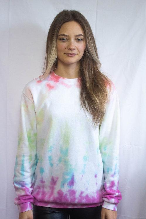 Rainbow Tie Dye Sweater
