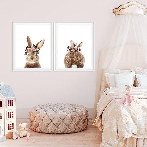 Sevimli Tavşan 2'li Set