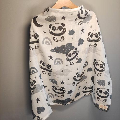 PandaLover - Müslin Emzirme Önlüğü