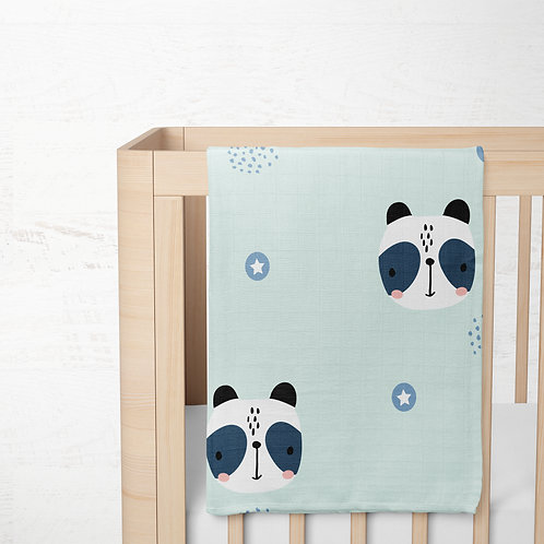 Panda - Organik Battaniye