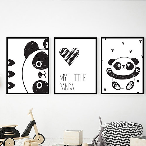 My Little Panda 3'lü Set