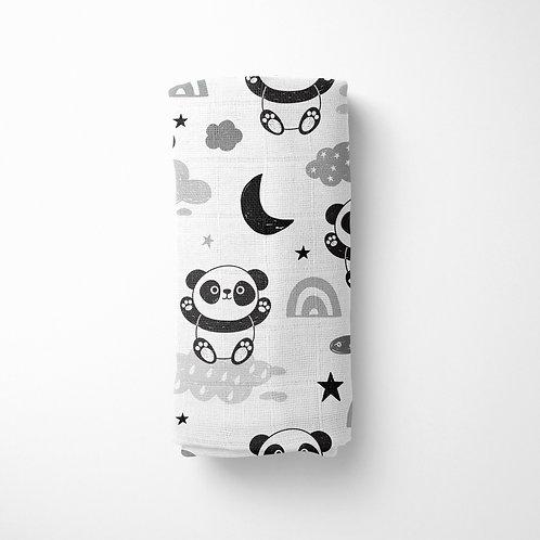 PandaLover - Organik Müslin Örtü