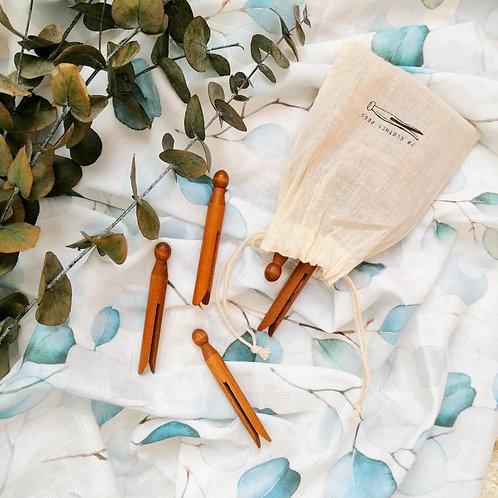 Okaliptus - Organik Müslin Örtü