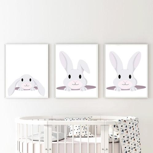 Şakacı Tavşan 3'lü Set