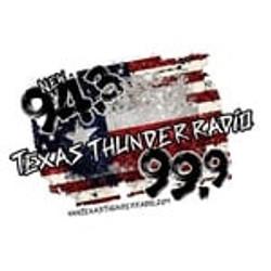 Texas Thunder Radio KTXM Halletsville tx